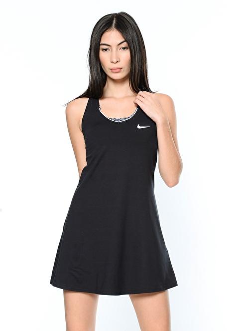Nike Askılı Mini Elbise Siyah